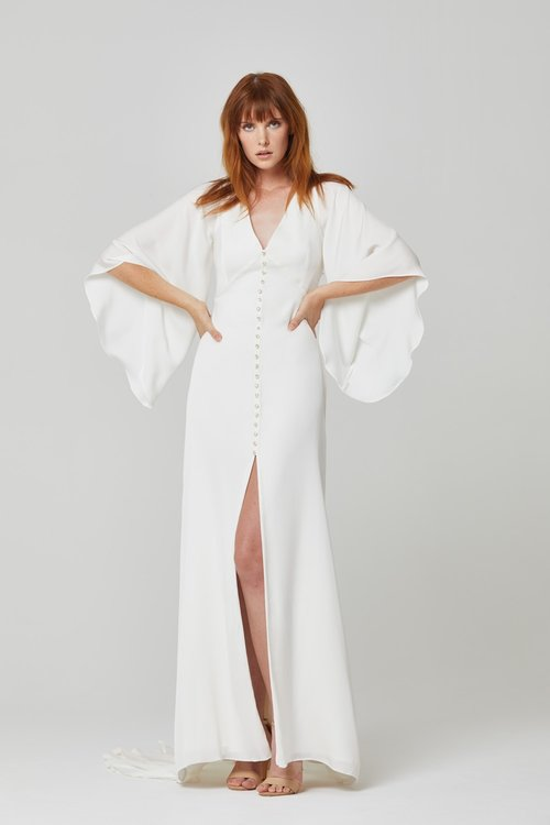 Australian Bridal Brand Ivie White - Valdora gown featured on LOVE FIND CO.
