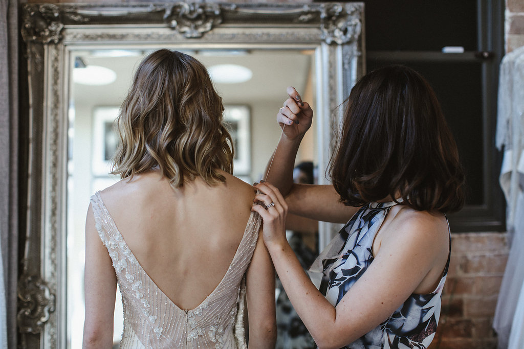 Bridal Designer Moira Hughes featured on LOVE FIND CO.