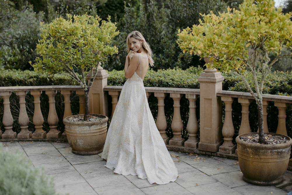 Kate McDonald PAINTED DESERT Wedding Dress Collection