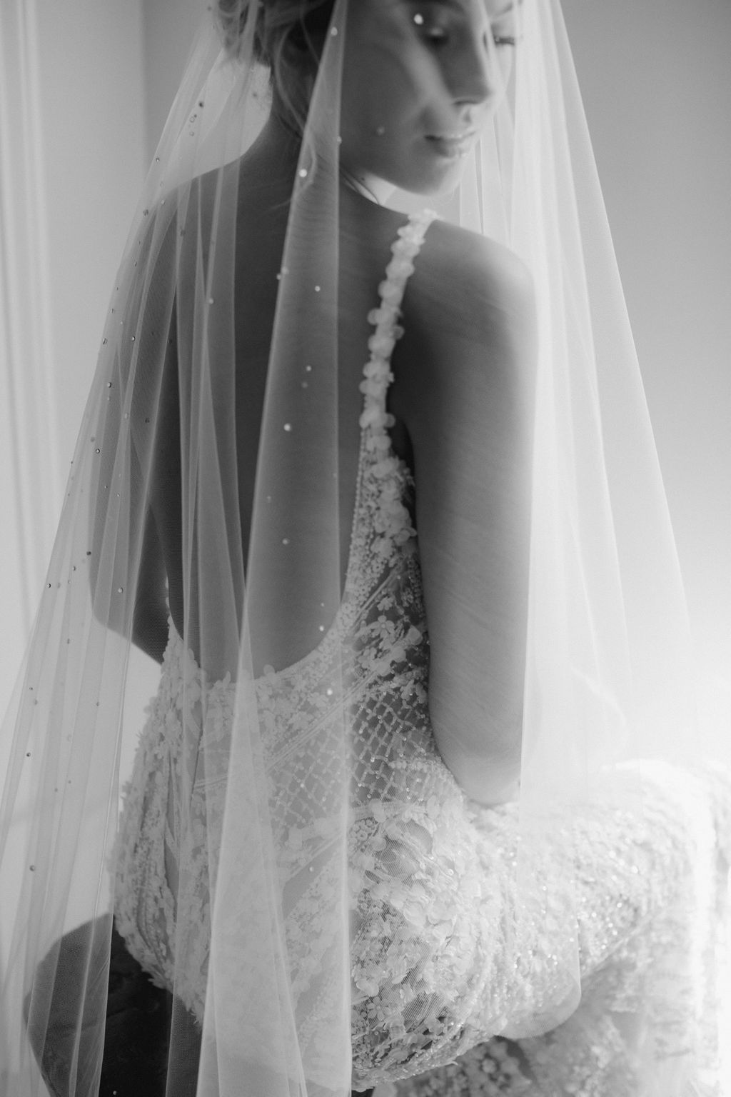 Our Guide To Bridal Veils - Veil by Tania Maras Bridal - LOVE FIND CO.