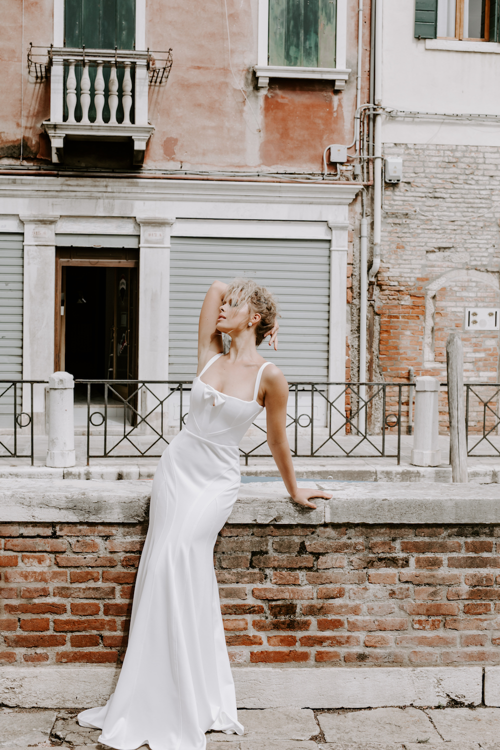 The SOFIA wedding dress from the Georgia Young Couture 'Summer Wine' RTW Collection featured on LOVE FIND CO.