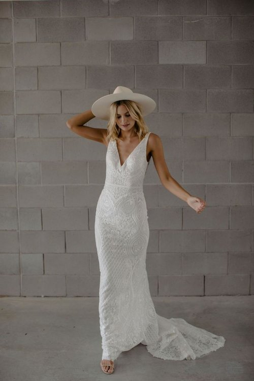 Made With Love Bridal available to brides in Melbourne at Bluebell Bridal