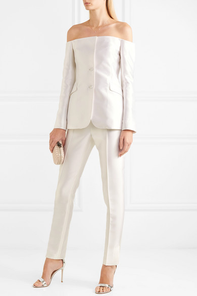 Gabriela Hearst Pant Suit available on Netaporter | Non Traditional Bridal Looks | LOVE FIND CO. Bridal Directory