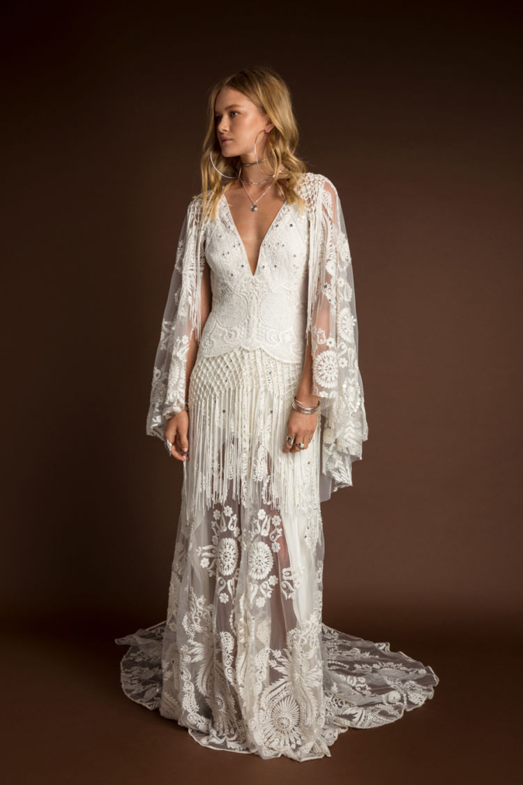Rue De Seine Bohemian wedding dresses | 10 wedding day looks for non-traditional brides | LOVE FIND CO.
