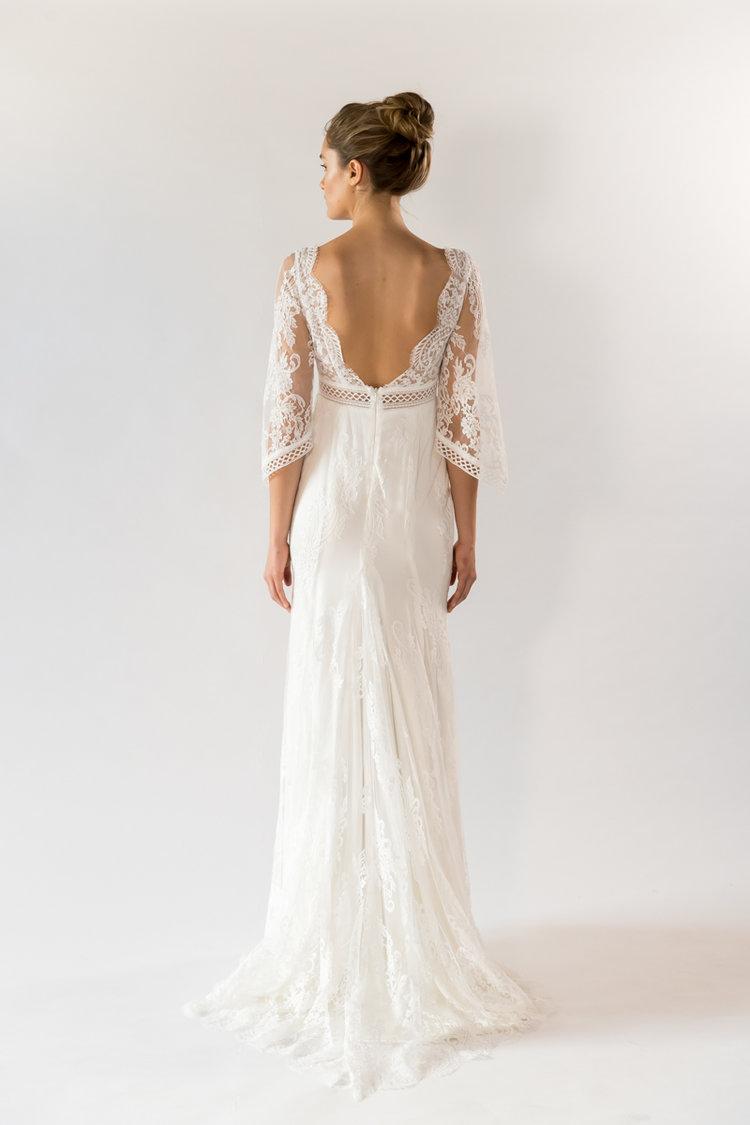 GEORGIA WHITE LABEL Ava wedding dress | Wedding Dresses under $5,000 | LOVE FIND CO. Bridal Dress Directory