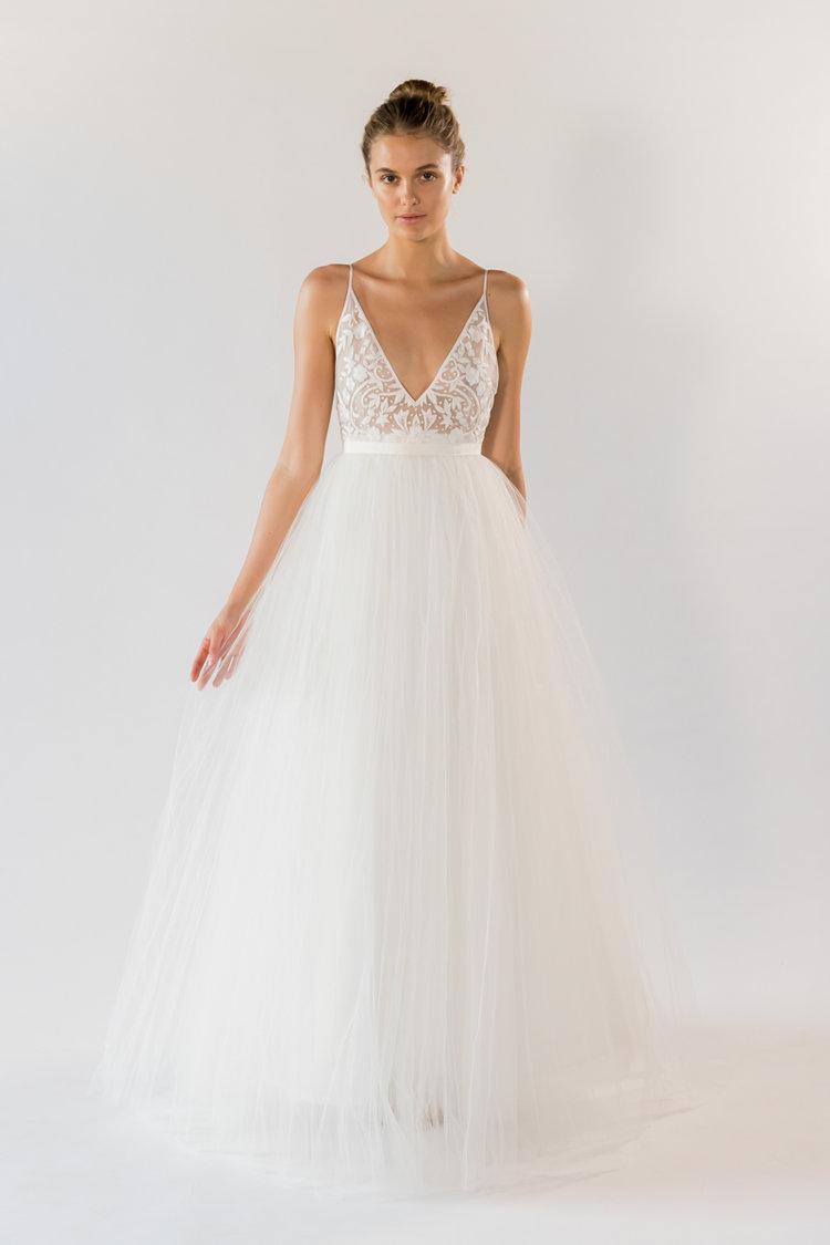 GEORGIA WHITE LABEL Sienna wedding dress | Wedding Dresses under $5,000 | LOVE FIND CO. Bridal Dress Directory