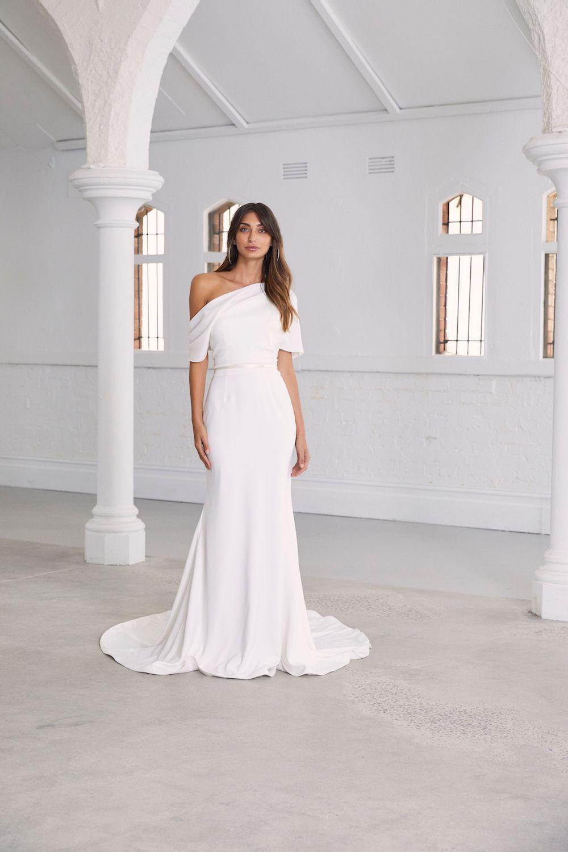 Amaline Vitale Abella Bridal Dress | Wedding Dresses under $5,000 | LOVE FIND CO. Bridal Directory