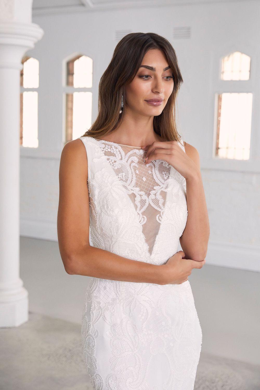 Amaline Vitale Violetta Bridal Dress | Wedding Dresses under $5,000 | LOVE FIND CO. Bridal Directory