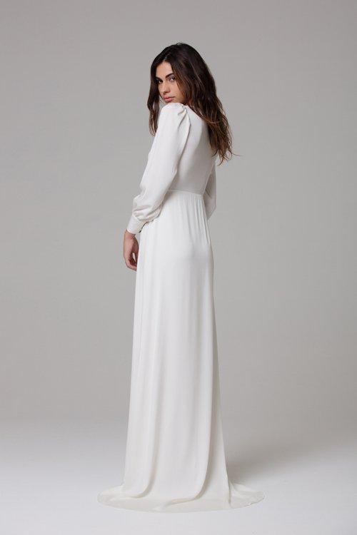 IVIE WHITE Margaux Gown | Wedding Dresses under $5,000 | LOVE FIND CO. Bridal Directory