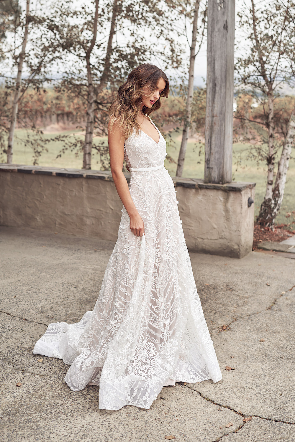 Lexi Empress Bridal Dress | Anna Campbell Lumiere Collection | LOVE FIND CO. Bridal Directory
