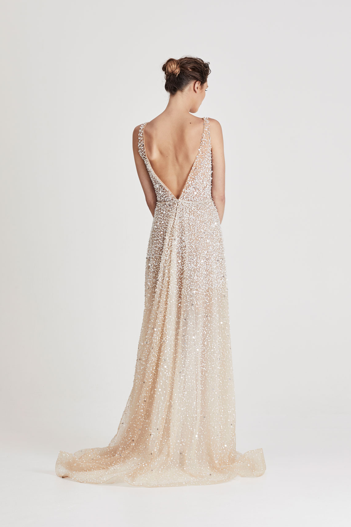 Chosen by One Day Peach dress | Wedding Dresses under $7,500 | LOVE FIND CO. Bridal Directory