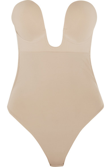 FASHION FORMS U-Plunge self-adhesive backless thong bodysuit | LOVE FIND CO. Bridal Directory