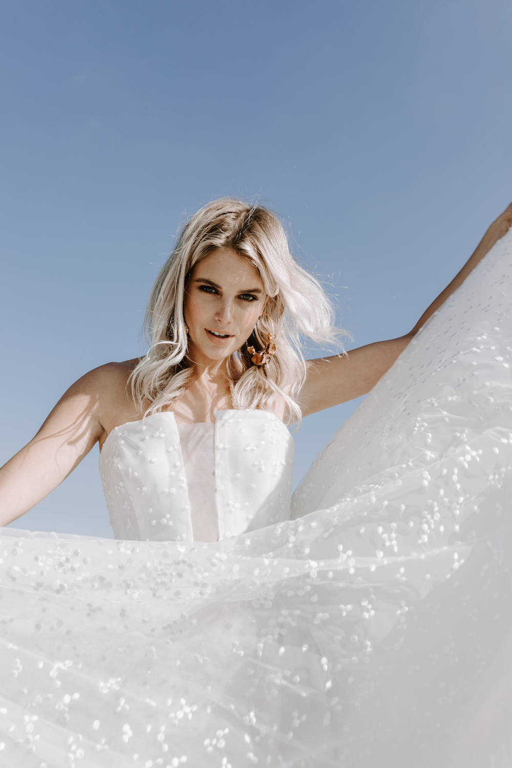Dan Jones wedding dress featured on the LOVE FIND CO. Editorial - Volume Five