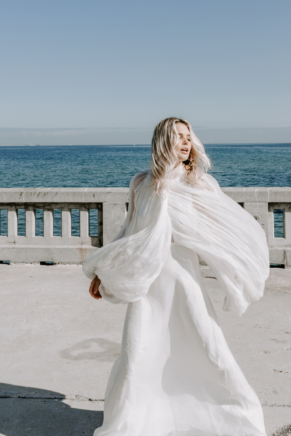 L'eto Bridal wedding dress featured on the LOVE FIND CO. Editorial - Volume Five
