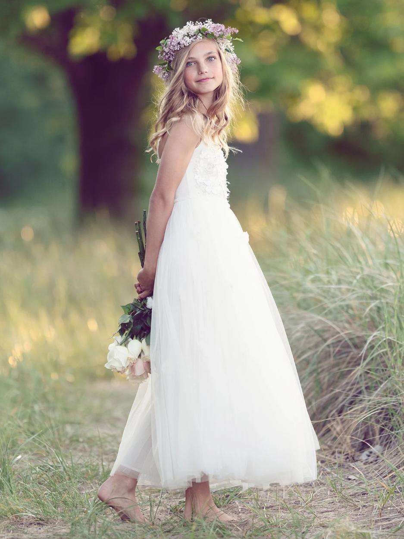 Shimmering Petals Long Tutu Dress by Tutu Du Monde | Featured on LOVE FIND CO.