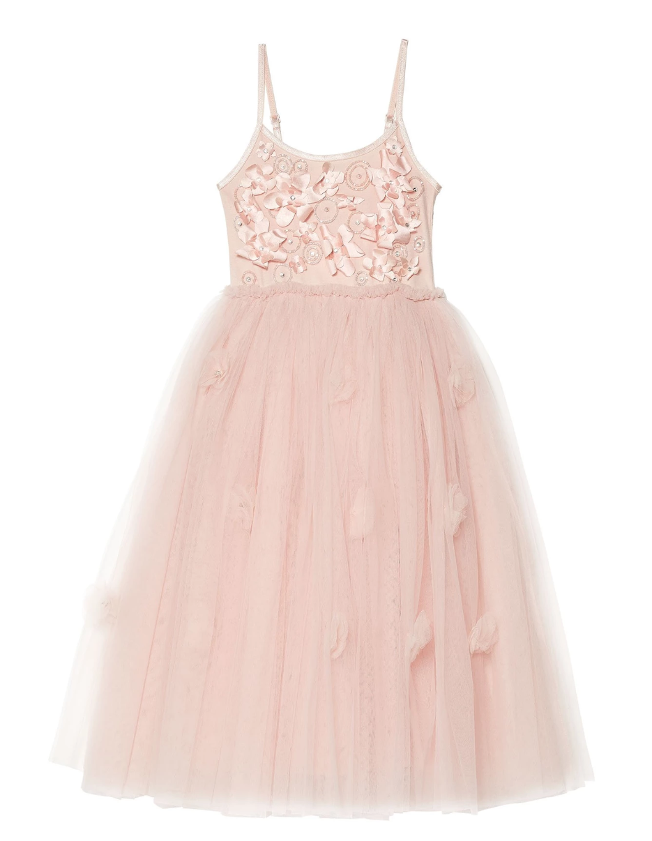 Shimmering Petals Long Tutu Dress by Tutu Du Monde | Featured on LOVE FIND CO.