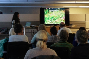 Amy E. Johnson Audubon Afternoon Presentation on Grasslands Conservation - Laura McDonald