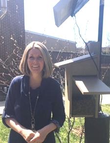 Kate Sydney With Bird Box