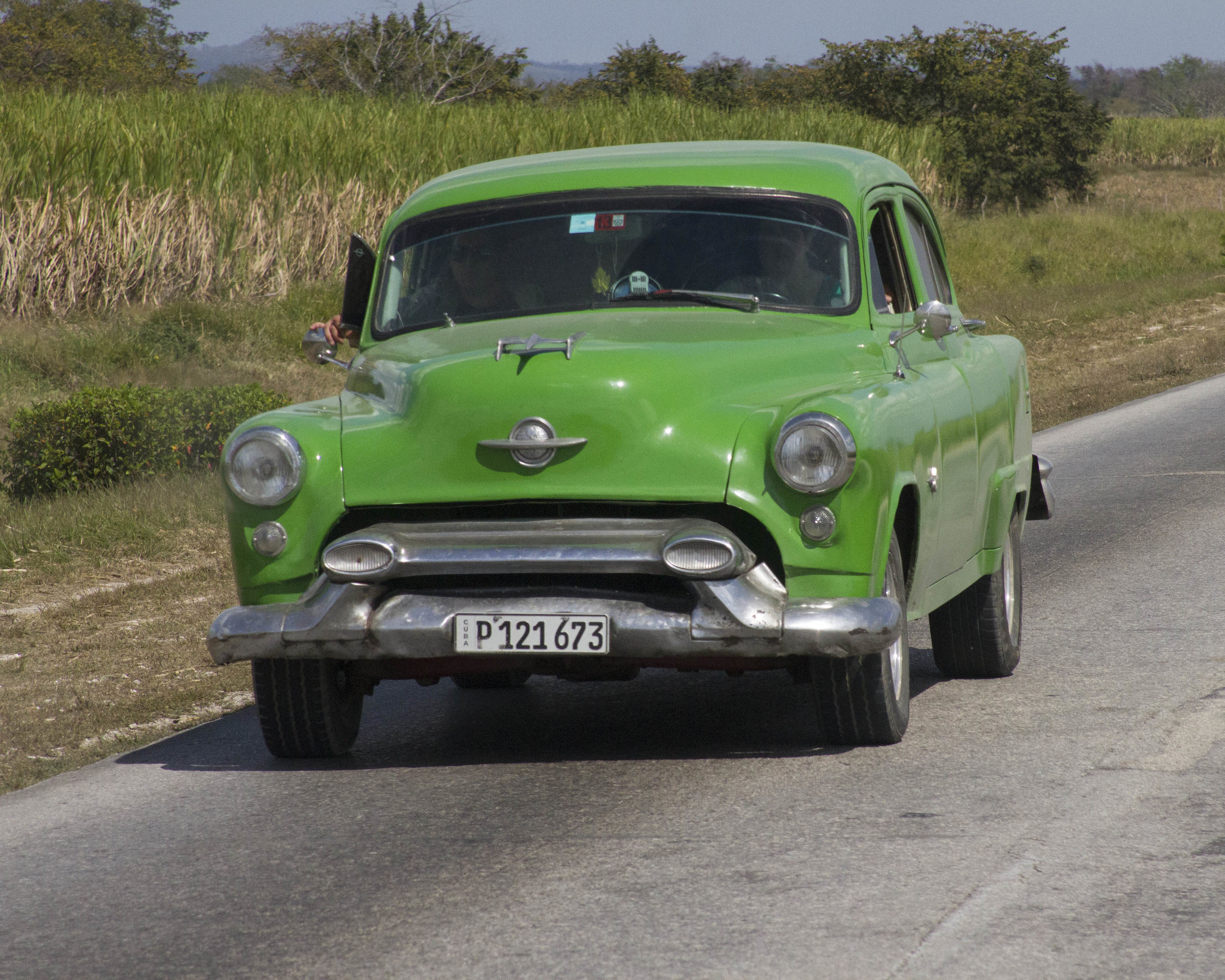 Old Car in Cuba - Dixie Sommers