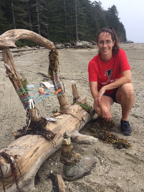 Michele's Beach Art! - Photo Credit: Katie O'Connell