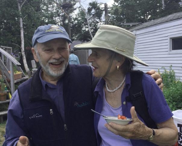 Elsie Morse and Dr. Kress reminisce! - Credit: Carolyn Peirce