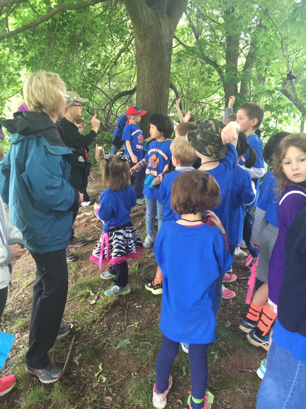 Outdoor Learning Event at Terra Centre Elementary - Morgan Occhuizzo