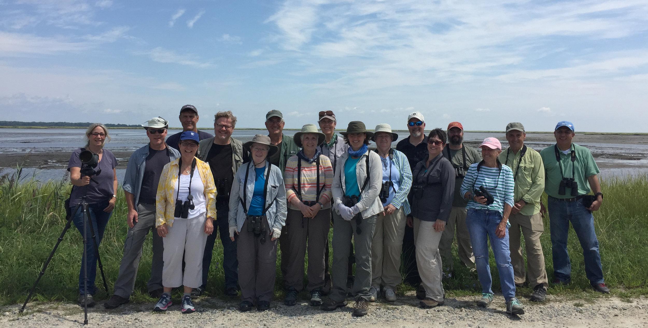 2018 Shorebird Class attendees