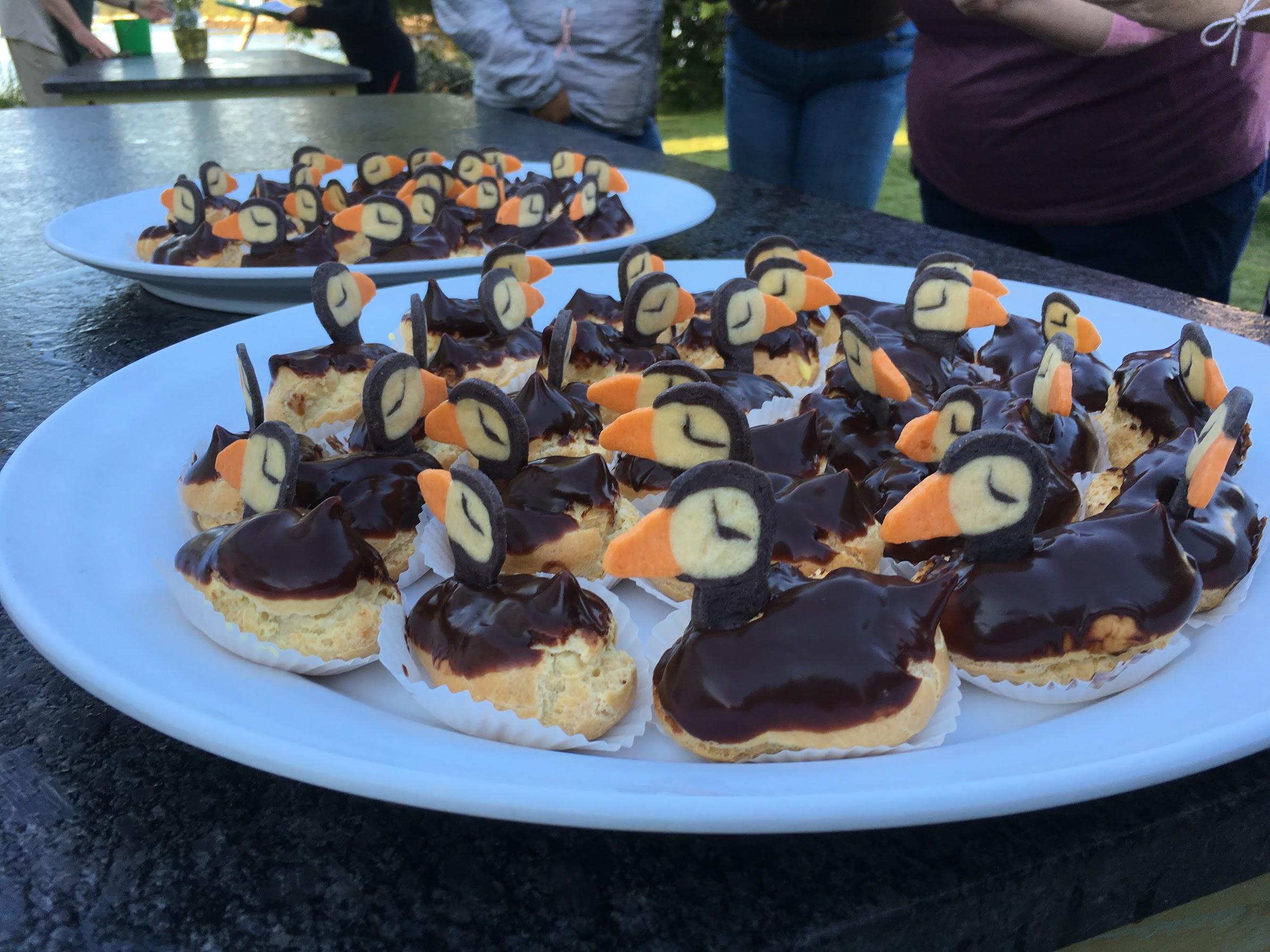 Puffin Desserts, Kirk Treakle
