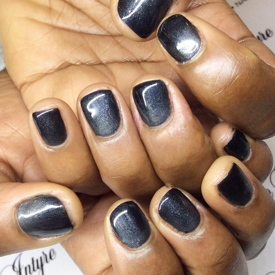In vogue - black nail polish, taking you from Penrith to Sydney and beyond