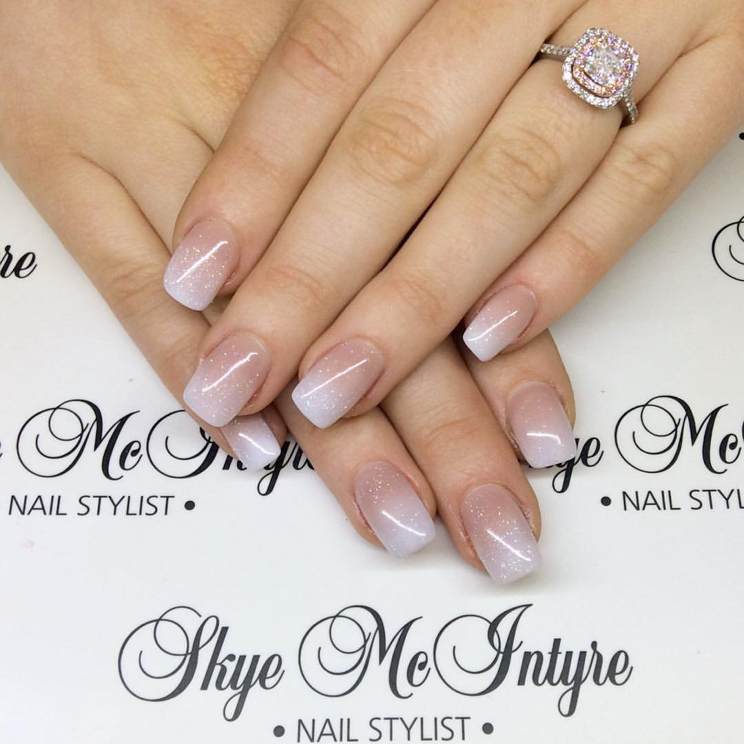 Gorgeous nails that are almost nude and natural! Nail styling and manicures Penrith