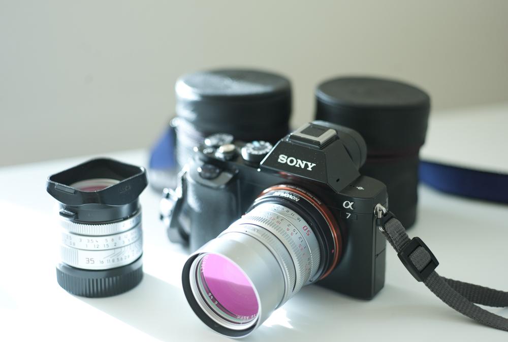 Leica Summilux 50mm ASPH on Sony A7