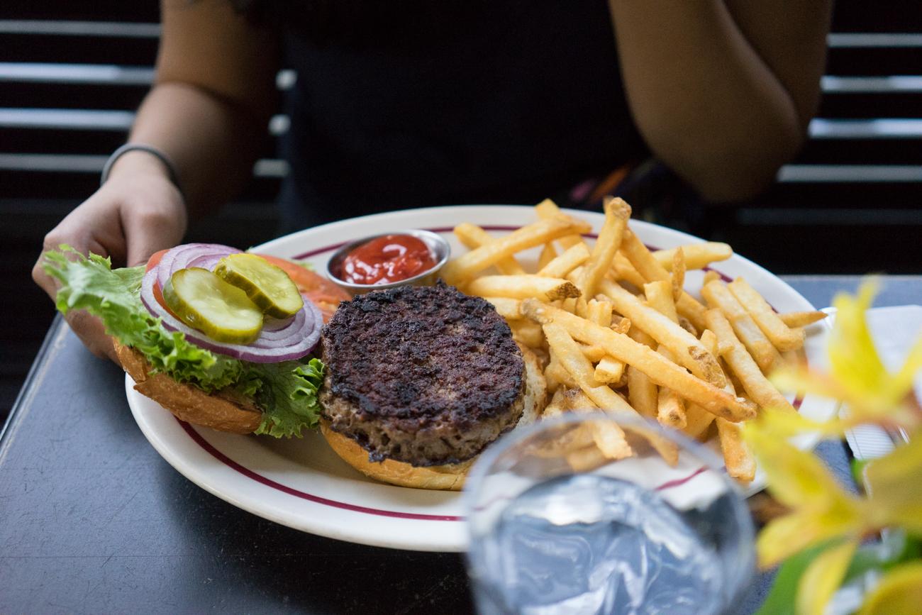 white star burger & fries
