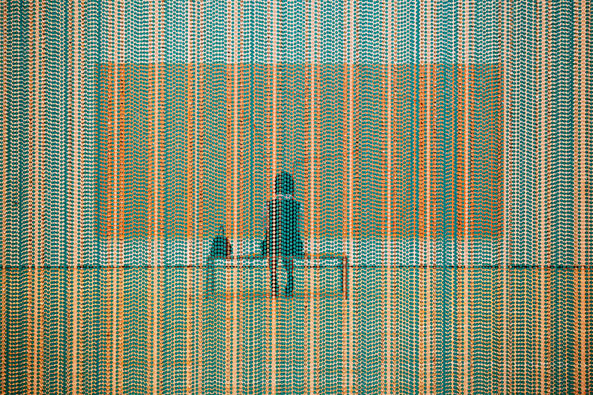 Beaded Curtain   2015