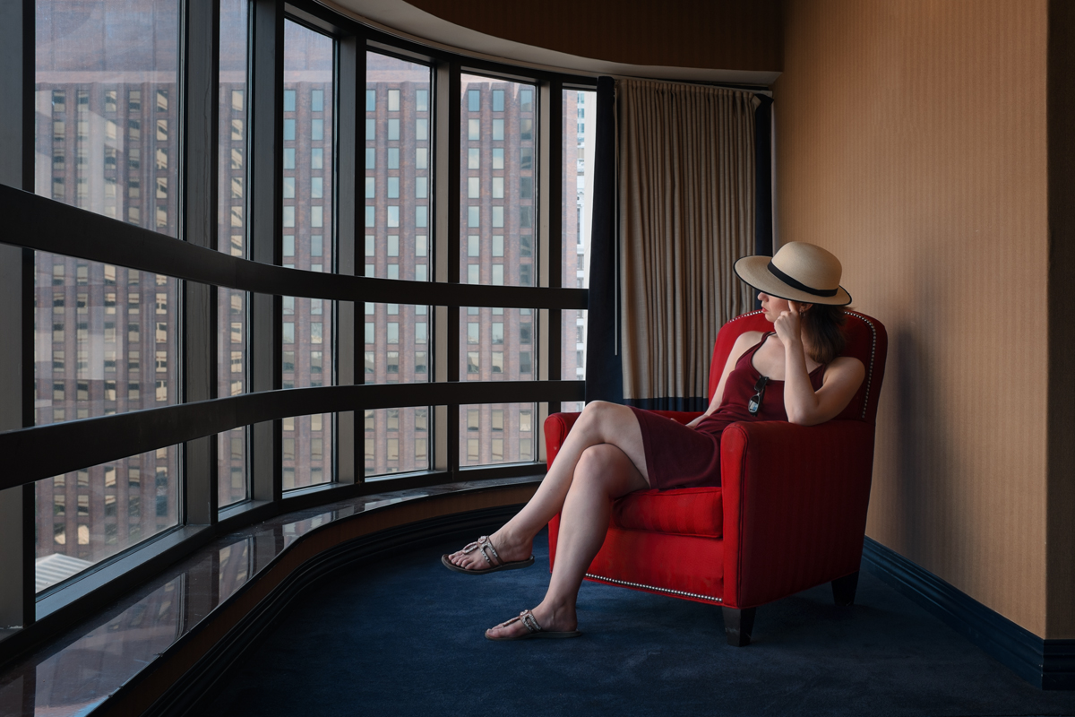 By the Hotel Window   2016