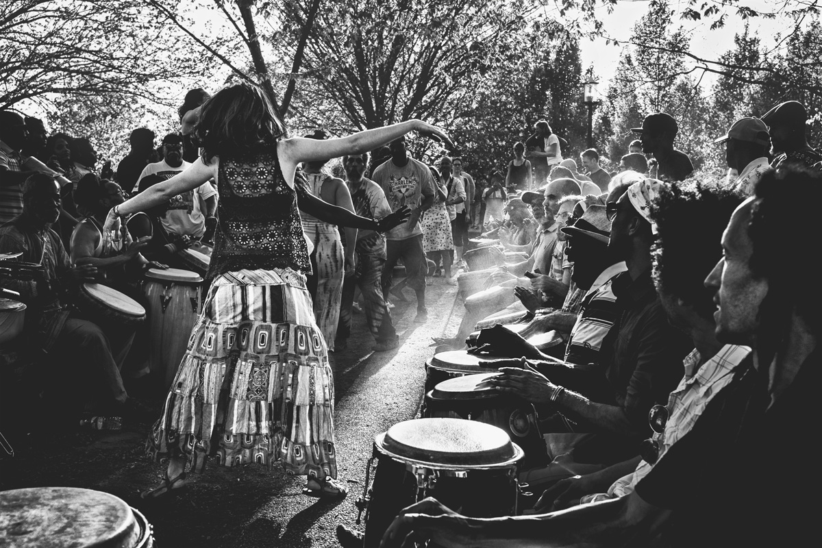 The Dance of the Djembes   2017