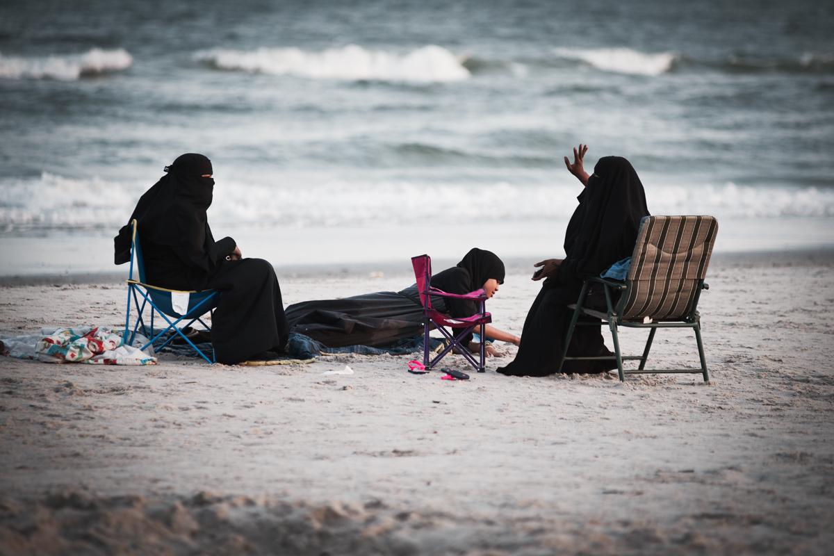 Beach Conversation   2013