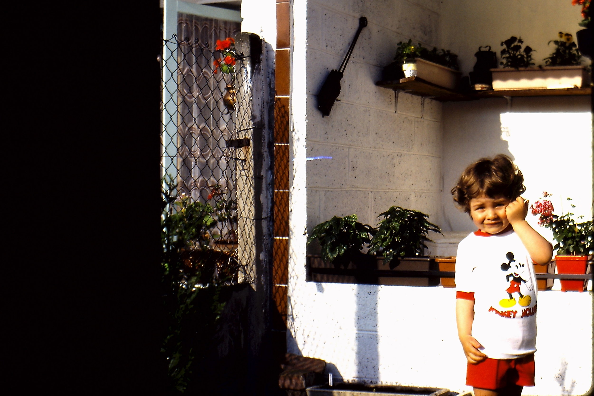 Little Max Being Cute   1980