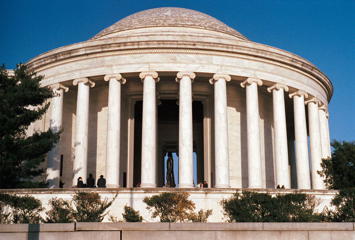 Late Afternoon at the Thomas Jefferson Memorial  |  Frame 35