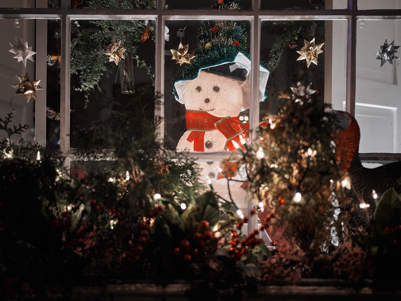 Snowman, GFX50R - 45 mm - f/2.8 - 1/100s - ISO 4000 (click to enlarge)