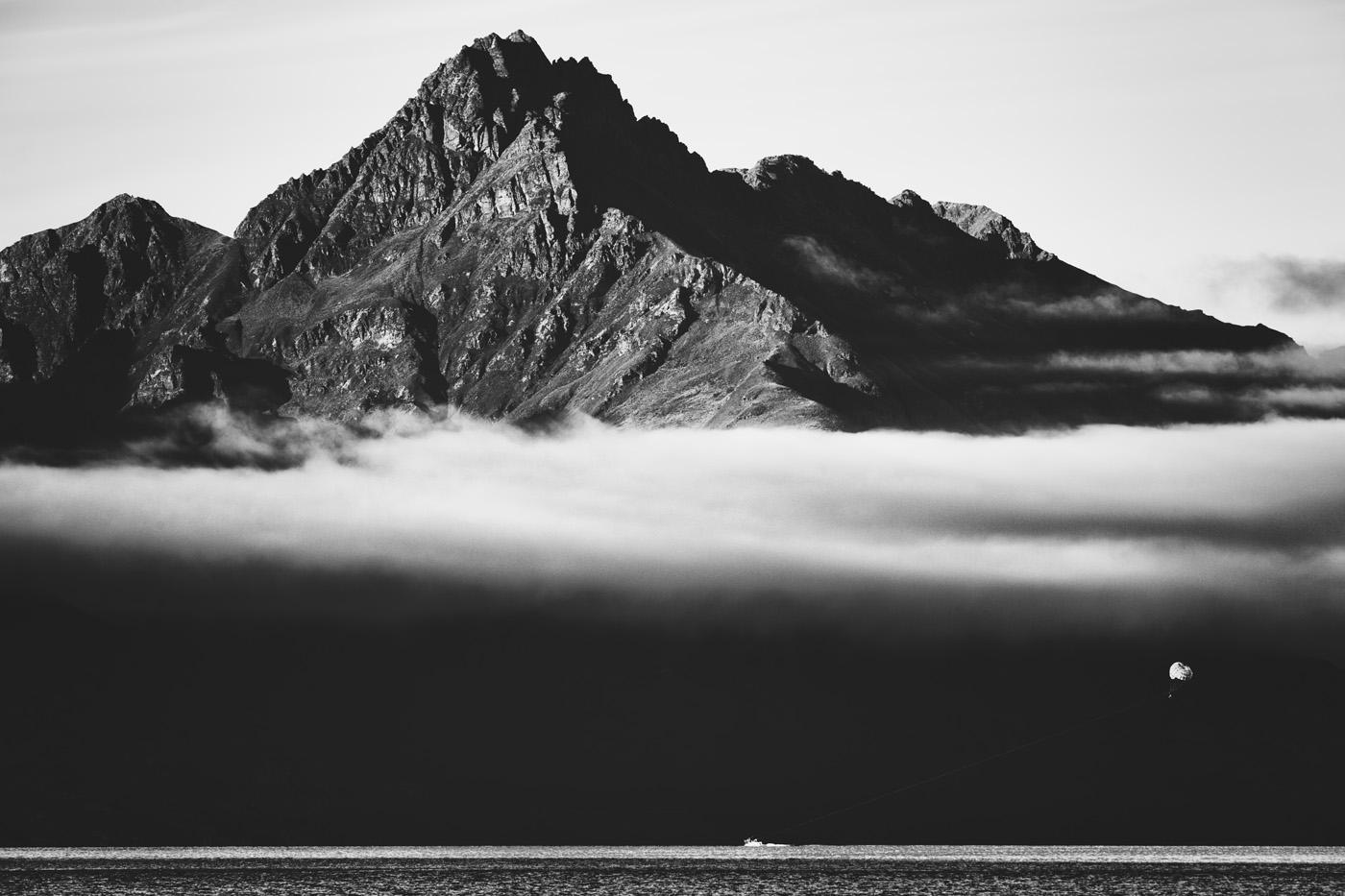 Parasailing on Lake Wakatipu | 2015