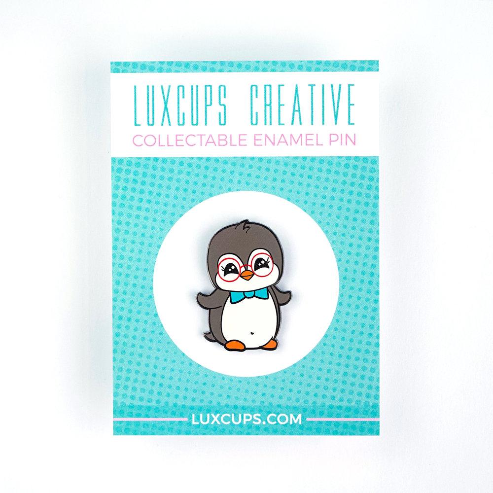 Penguin Pin Hard Enamel