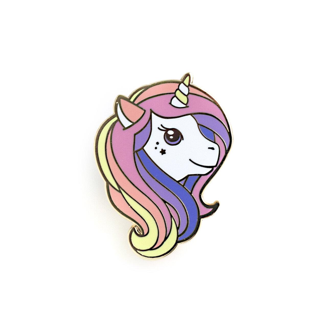 P6 - Rainbow Unicorn Pin