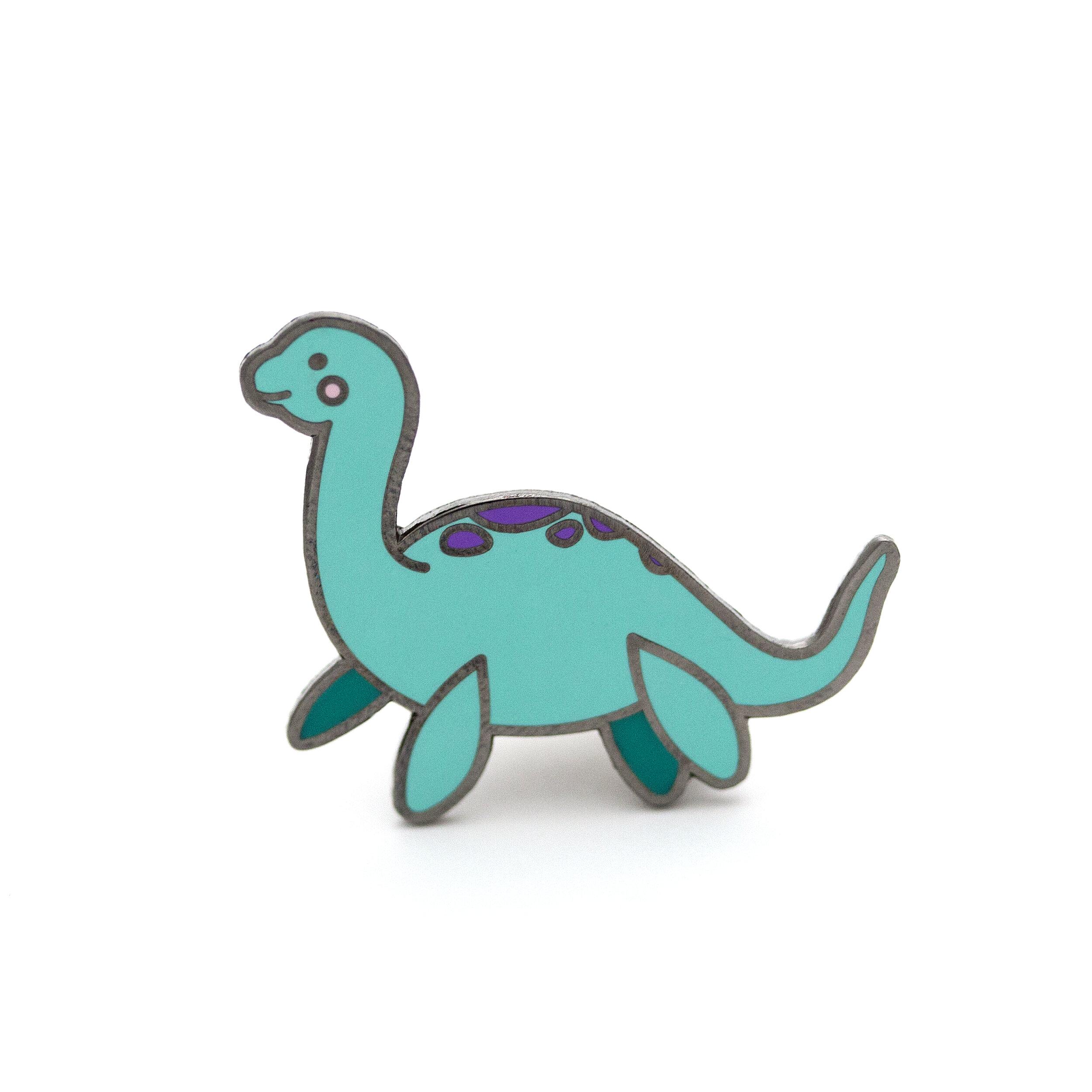 P1 - Lady Loch Ness Pin