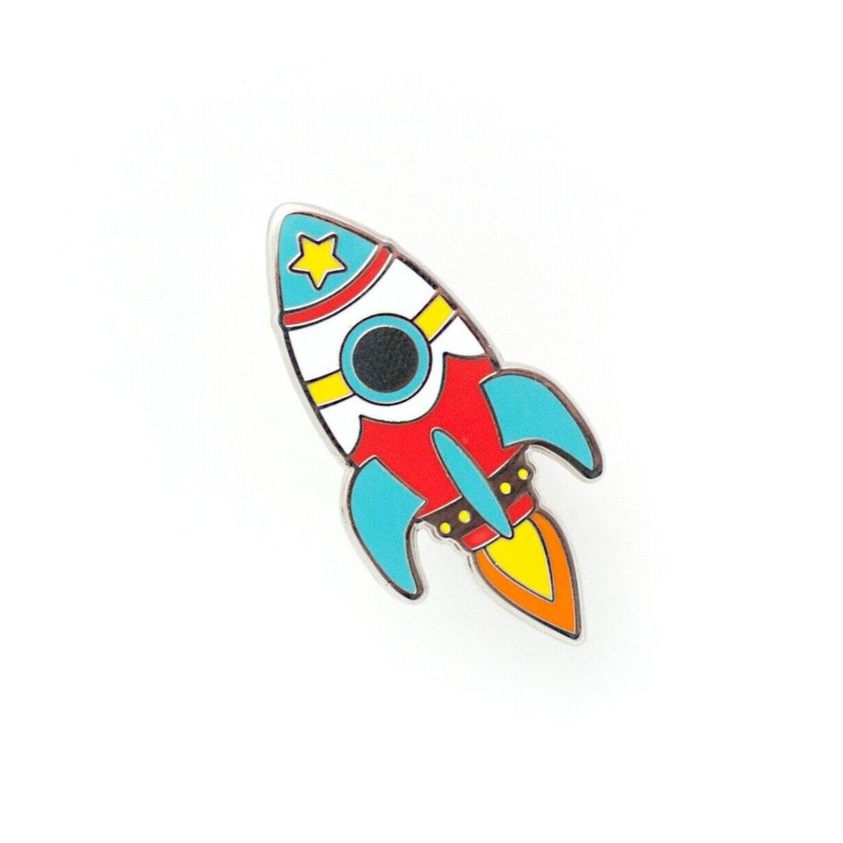 P22 - Rocket Pin - Bright
