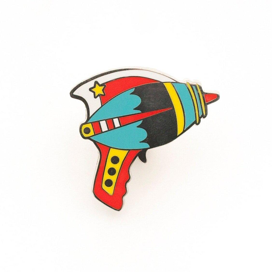 P9 - Bright Ray Gun Pin