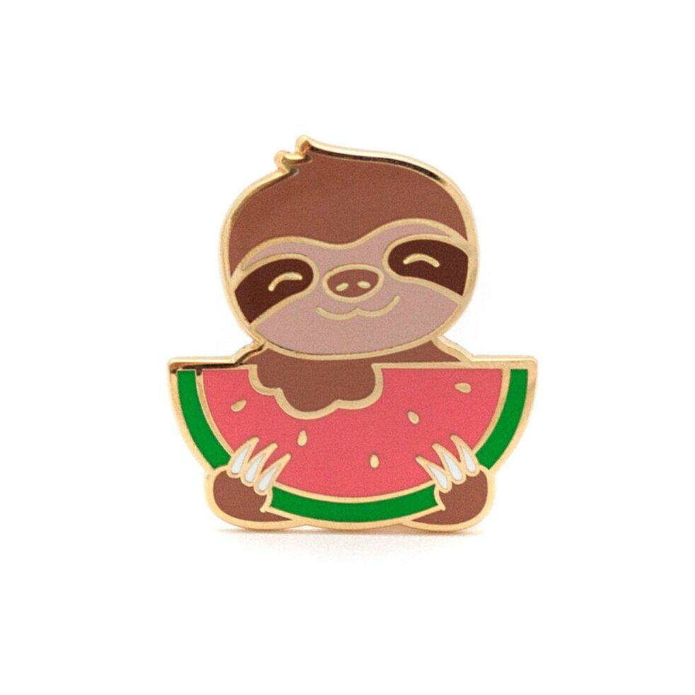 P21 - Sloth-er-melon Pin
