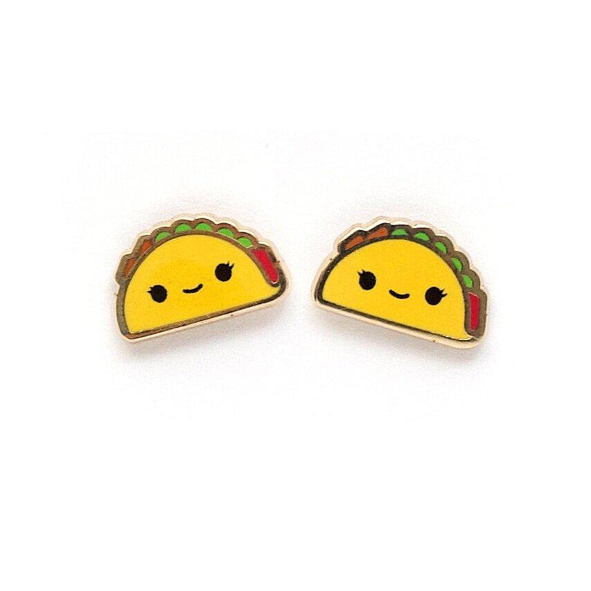 E25 - Taco Earrings