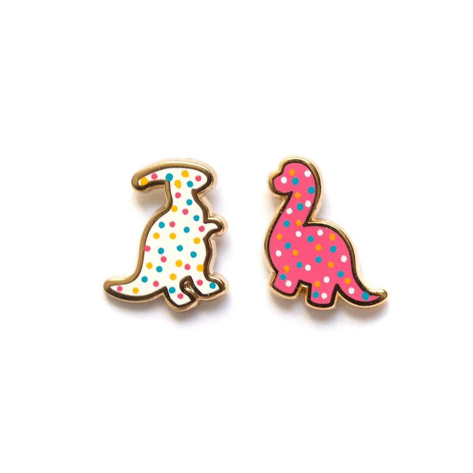 E28 - Dino Cookie Earrings