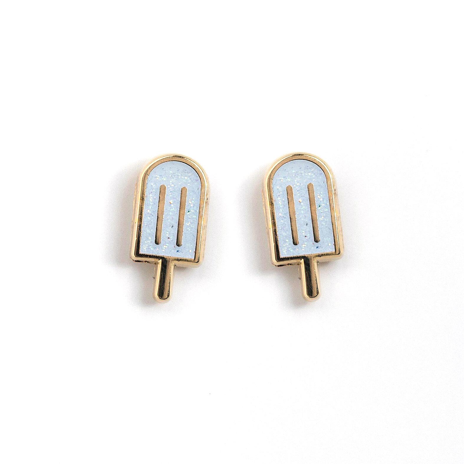 E11 - Glitter Popsicle Earrings