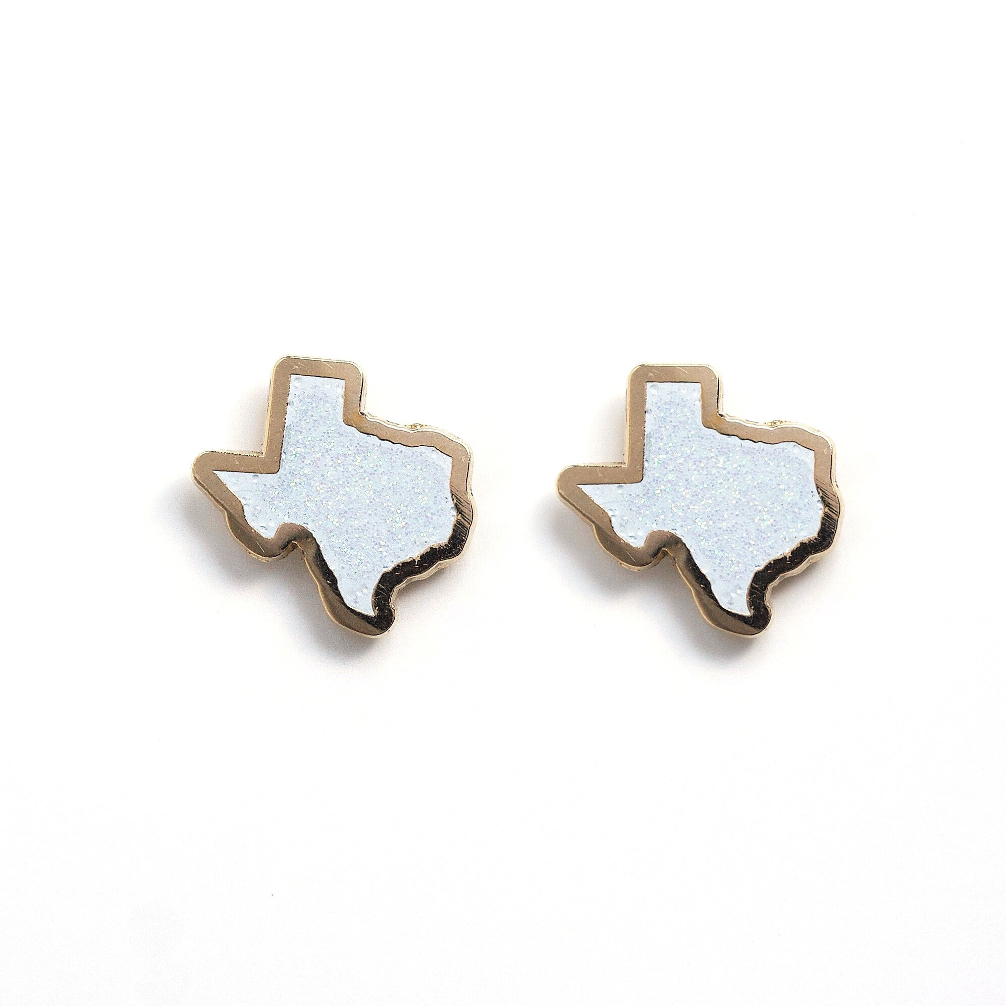 E7 - Glitter Texas Earrings